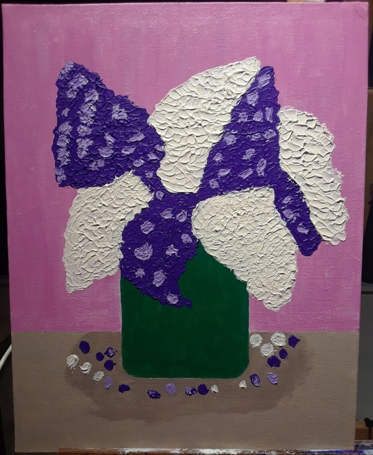 pallet knife painting 1st